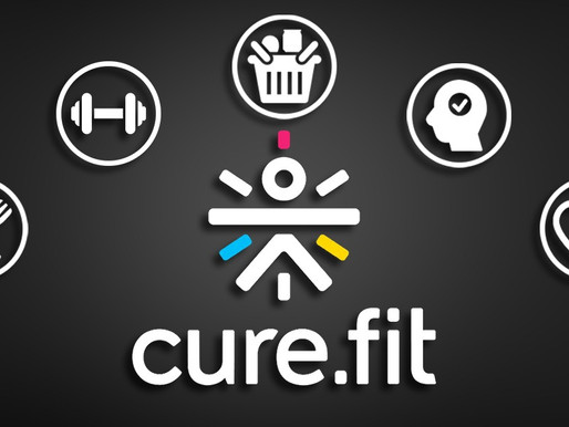 Cure.fit raised Rs 832 Cr led by Temasek