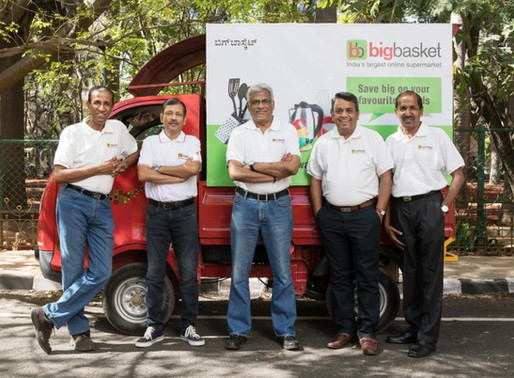 Online grocery startup BigBasket raised $60 mn from Alibaba