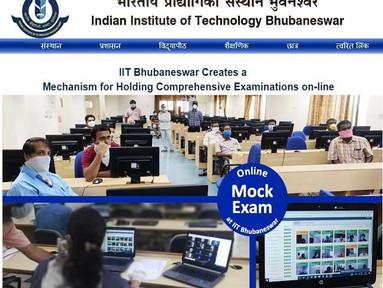 IIT Bhubaneswar developed an online exam system with Proctors & Invigilators