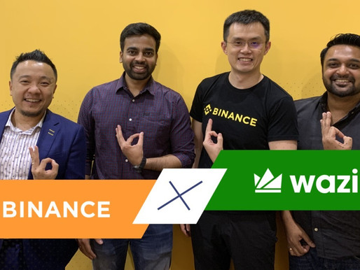 Binance and WazirX jointly set up $50 Mn blockchain fund for India