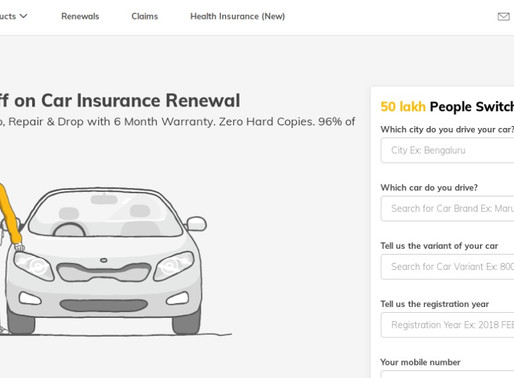 Digit Insurance raised $84 million from TVS Capital,A91 Partners