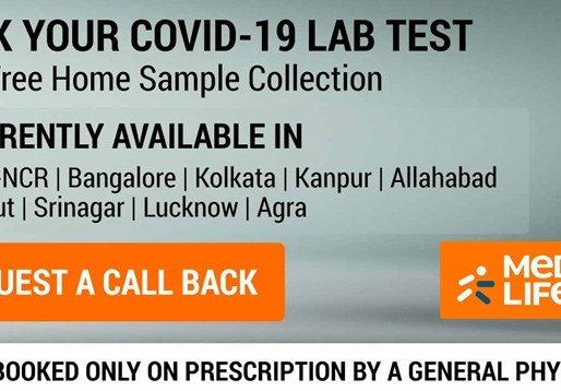 Medlife launches at-home COVID-19 testing