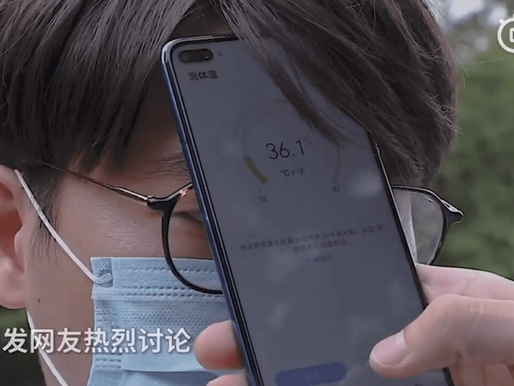 Huawei's new phone can now take your temperature
