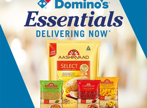 Domino's is now delivering essentials in partnership with ITC