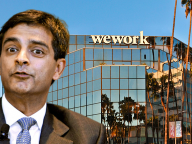Sandeep Mathrani is WeWork's 3rd CEO in 4 Months