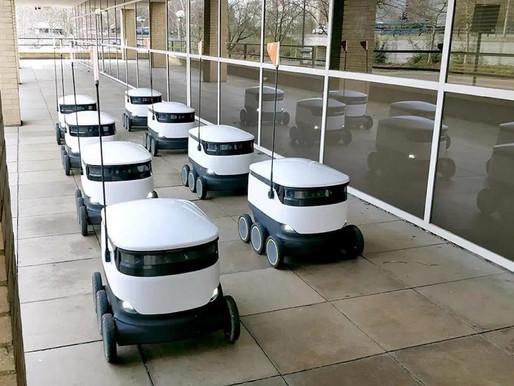 Starship Technologies sending its autonomous robots for contactless deliveries