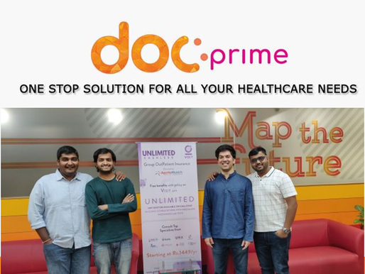 Policybazaar Parent's Healthtech venture Docprime invested $7.5 million in Visit Health