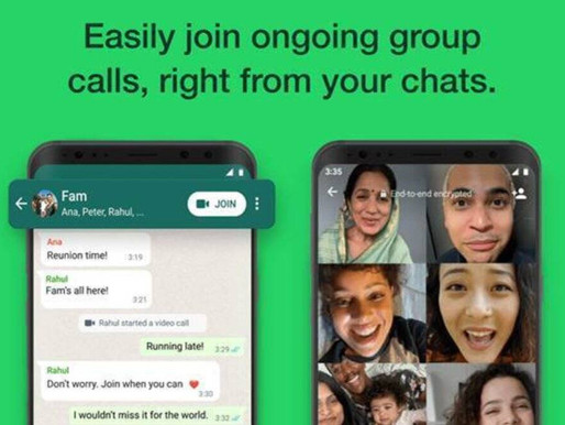 WhatsApp's new button will let you join calls directly from the group