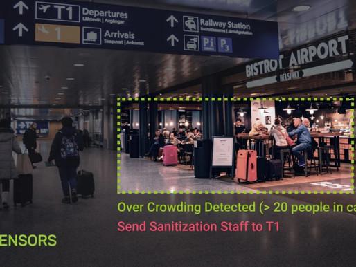 Activity-monitoring startup Zensors repurposes its technology to help coronavirus response