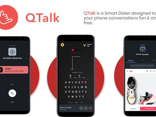 QTalk raised $1.6mn Seed Funding from Lightspeed & Accel
