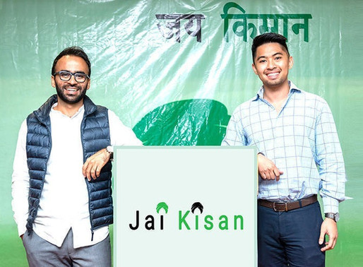 NABARD fund makes first investment in fintech startup Jai Kisan
