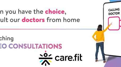 Curefit Launches Telemedicine Services Under Care.fit Vertical