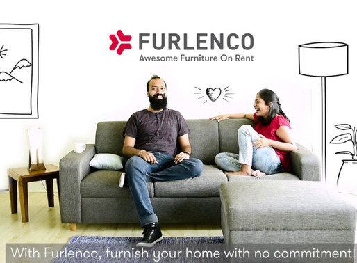 Furniture rental startup Furlenco raised $10 million