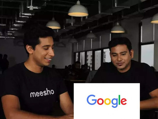 Google in talk to invest over $50 million in social commerce startup Meesho