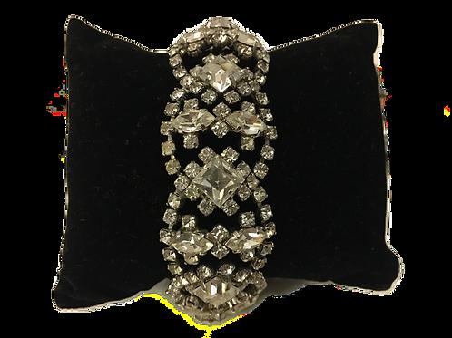 Devastatingly Decadent Diamanté Bracelet