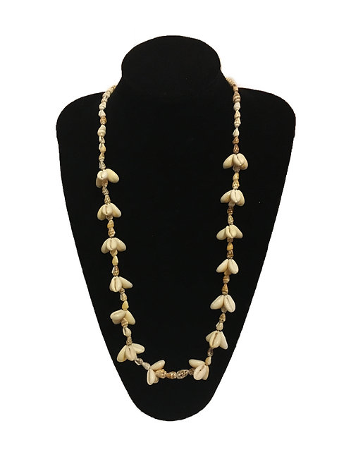 Summery Long Shell Necklace