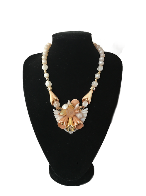 Luscious Pierre Cardin Statement Necklace