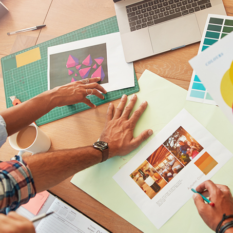 Como funciona o processo de criação de uma marca?