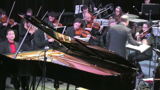 Joshua Mhoon performs Rachmaninoff's Concerto #2 in C minor Opus 18-3rd Movement