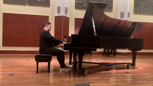 Joshua Mhoon performs Scherzo No.1 Op. 20 Chopin, Frederic