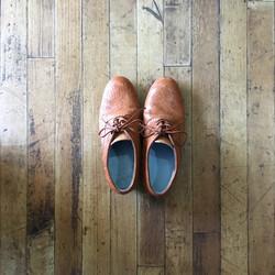 紐靴(ヒール4cm)