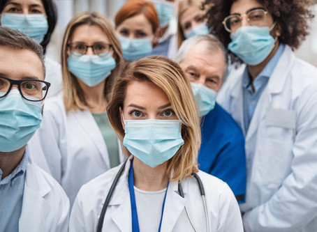 Providing evidence on the ongoing health care workers' mask debate