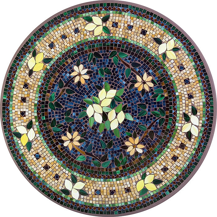 Outdoor furniture tucson knf neille olson for Mosaic designs garden
