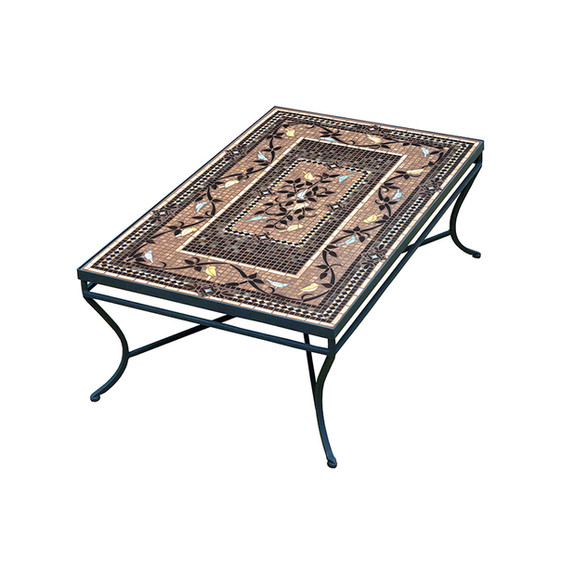 KNF Neille Olson Provence Rectangle Coffee Table