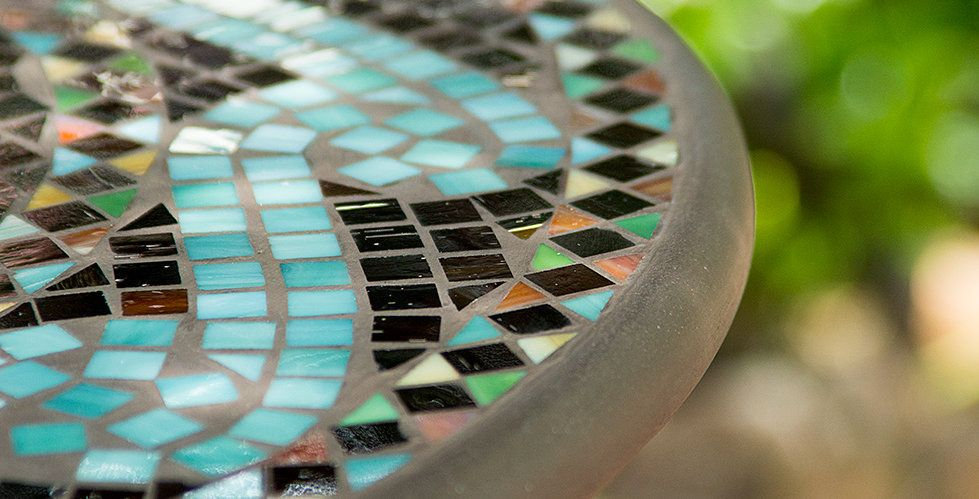KNF Designs Neille Olson Oasis Mosaic Table