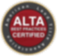 ALTA Best Practices Certified