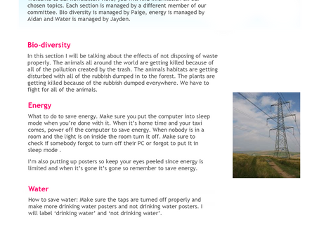 GUST Eco-newsletter