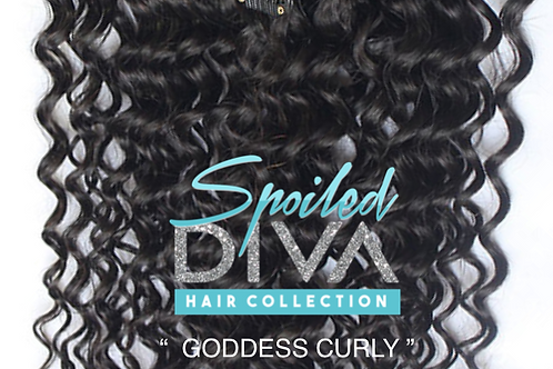 Goddess Curly Snap & Tracks (double drawn)