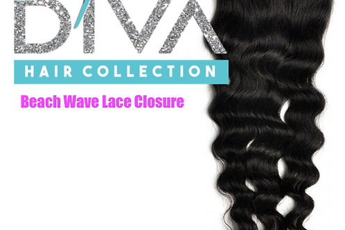 BEACH WAVES LACE CLOSURE