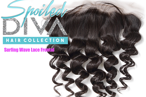 SURFING WAVE LACE FRONTAL