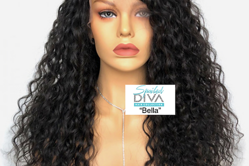 """Bella"" curly Lace front wig"