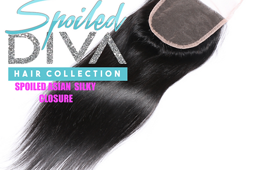 SPOILED (ASIAN SILK) LACE CLOSURE