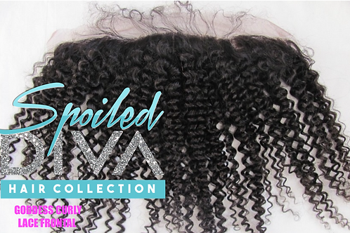 SPOILED (GODDESS CURLY)  LACE FRONTAL