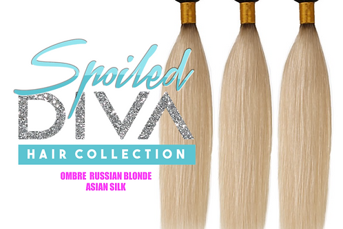 SPOILED ASIAN SILK (OMBRE RUSSIAN BLONDE)
