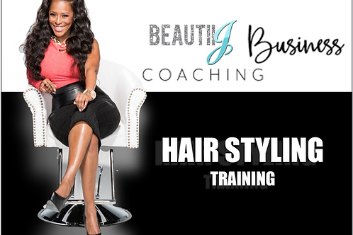 HAIR STYLING TRAINING