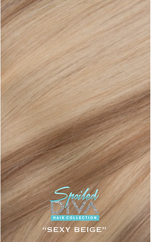 SEXY BEIGE (HIGHLIGHTS) SNAP & TRACKS (clip-ins Extensions)