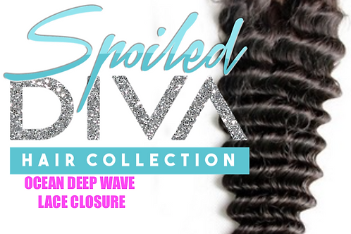 SPOILED (OCEAN DEEP WAVE) LACE CLOSURE