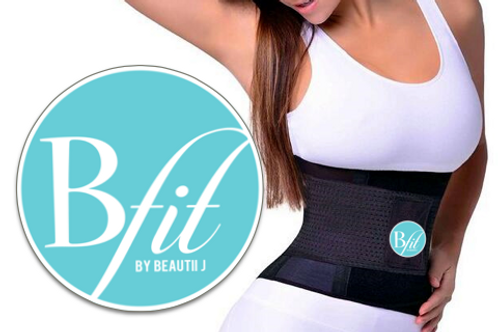 BFit Black Waist Shrinker