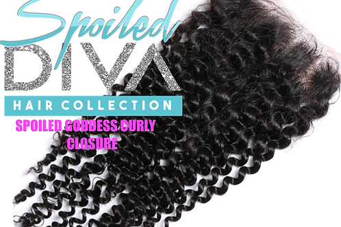 SPOILED (GODDESS CURLY) LACE CLOSURE