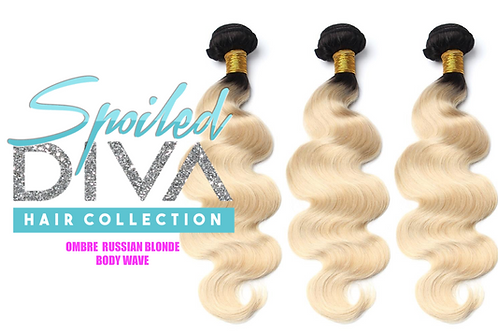 SPOILED BODY WAVE (OMBRE RUSSIAN BLONDE)
