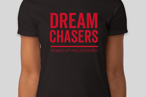 Dream Chasers Red and Black Tee