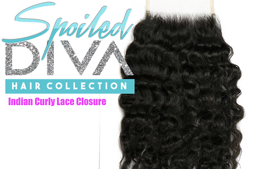 SPOILED INDIAN (CURLY) CLOSURE