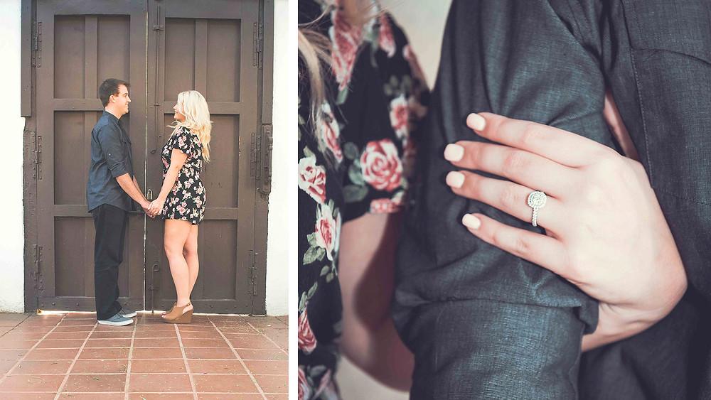 Mission San Diego, engagement, San Diego, ring