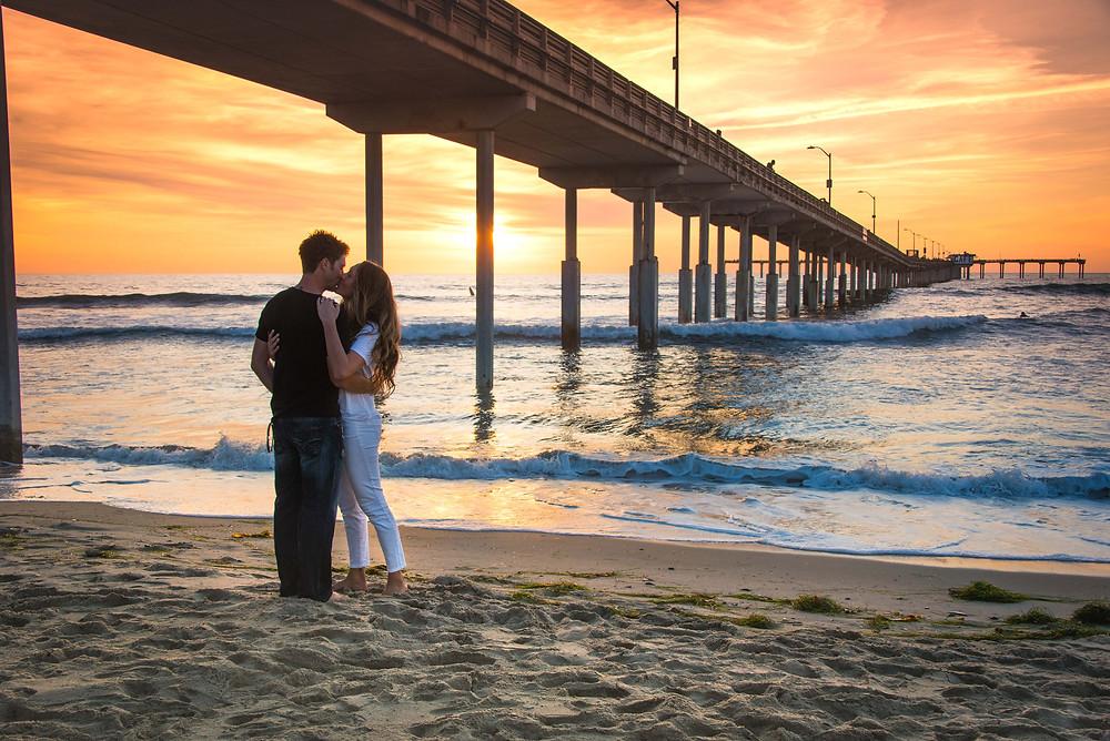 Sunset Cliffs, Ocean Beach Pier, Engagement Session, Engagement Photography, San Diego