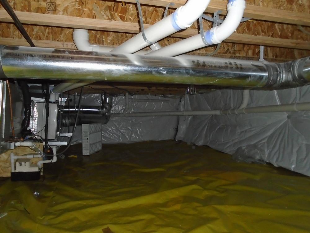 Missoula, missoula foundation inspection, foundation, crawlspace, home inspection, missoula home inspections