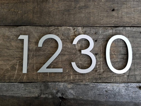 House numbers: They could save your life